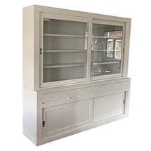 Tủ gỗ văn phòng giá rẻ màu trắng tinh tế chất lượng bền đẹp TSP61
