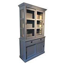 Tủ kính nhỏ trưng bày 3 tầng gỗ công nghiệp giá rẻ TSP43