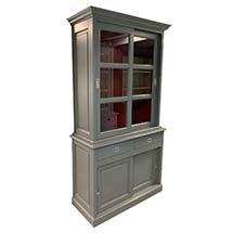 Tủ kính nhỏ trưng bày sản phẩm giá rẻ cho spa, cửa hàng TSP77
