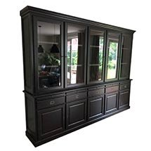 Tủ phòng khách đẹp hiện đại màu đen được ưa chuộng hiện nay TSP67