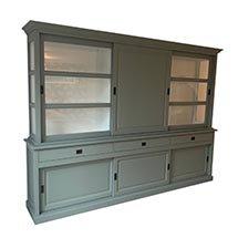 Tủ quần áo 3 tầng màu xanh decor cho không gian phòng ấn tượng TSP82