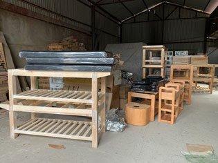 Thumb xưởng sản xuất giường spa gỗ