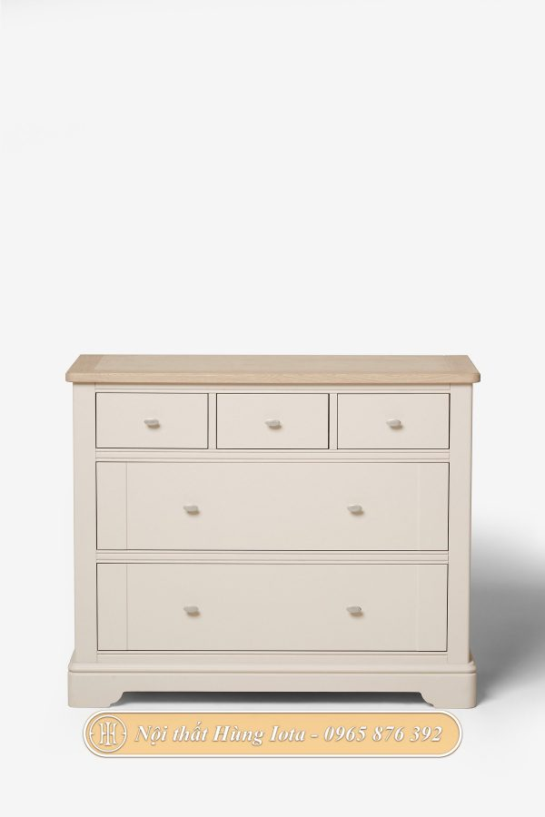 Tủ đựng đồ màu trắng hồng nhiều ngăn