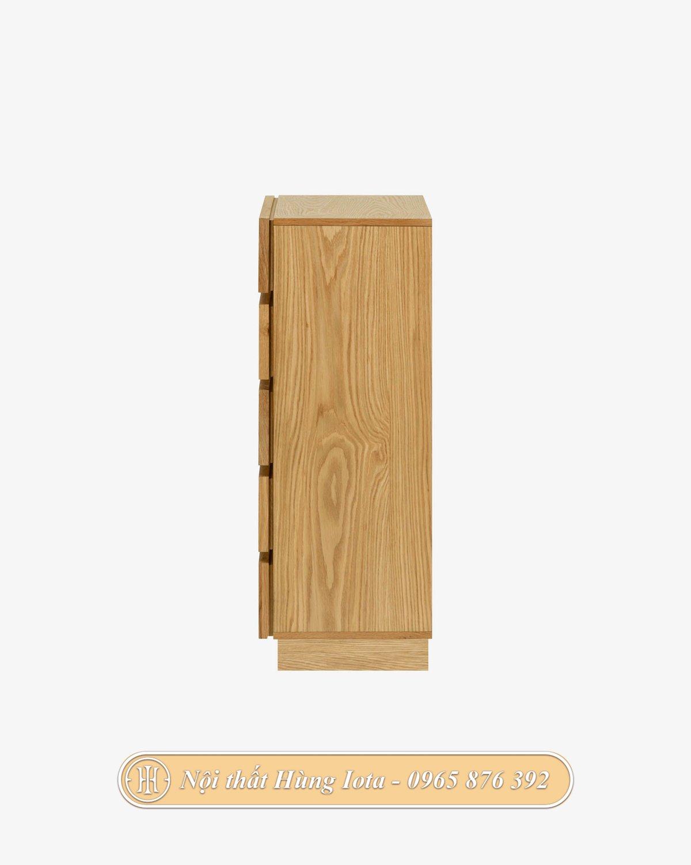 Tủ đựng đồ màu gỗ tự nhiên sang trọng