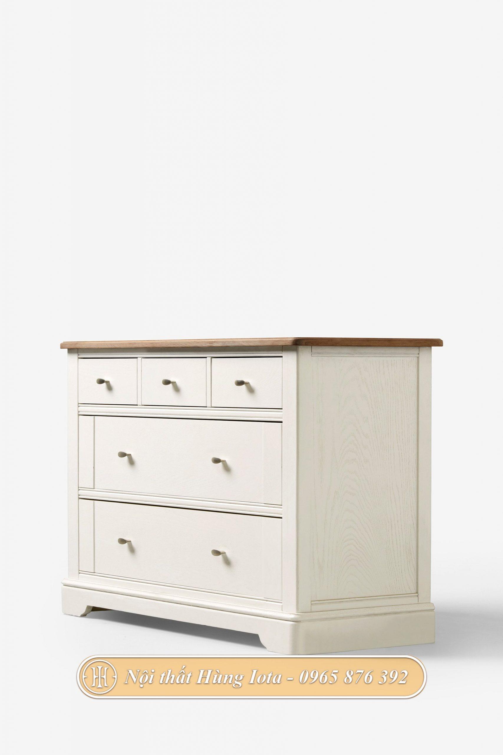 Tủ đựng đồ trắng đơn giản