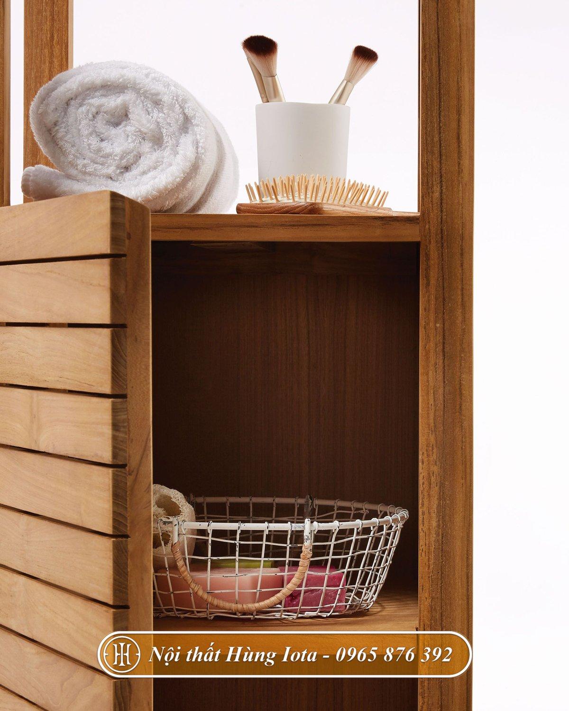 Tủ gỗ đựng đồ đa năng 3 tầng
