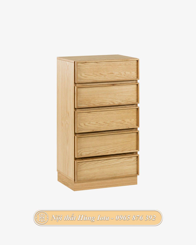 Tủ gỗ mini 5 tầng đựng đồ tiện dụng