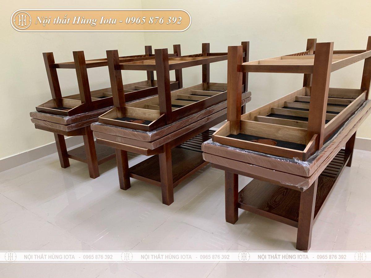 Vặn chuyển giường massage tới Bắc Ninh