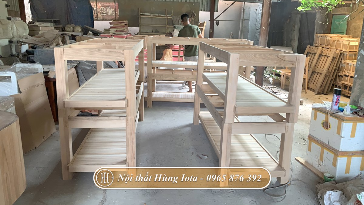 Xưởng sản xuất giường spa hiện đại