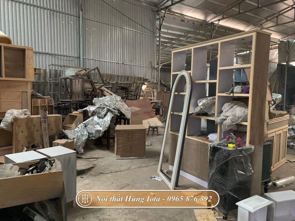Xưởng sản xuất nội thất gỗ uy tín