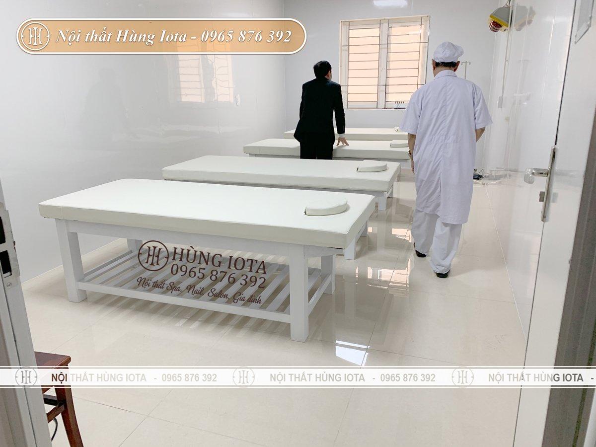Giường spa gỗ cao cấp chất lượng
