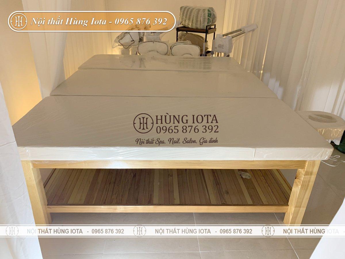Hệ thống giường spa ở Vinhomes Mễ Trì