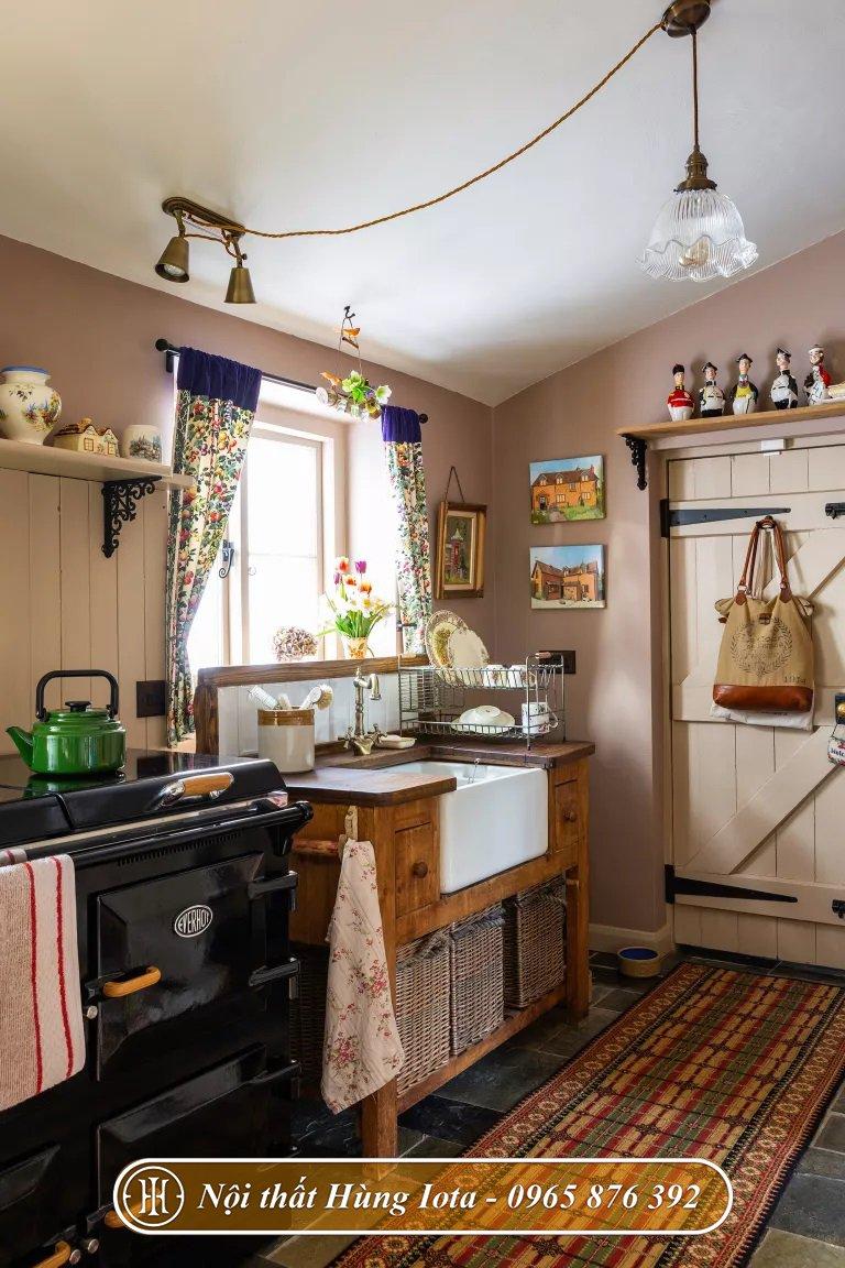 Thiết kế nhà bếp phong cách vintage ấn tượng