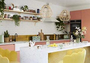 Thumb decor nhà bếp ấn tượng dùng đảo bếp mặt đá