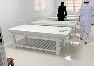 Thumb giường spa gỗ tại bệnh viện đa khoa