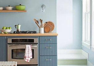Thumb thiết kế bếp ăn tone pastel đẹp