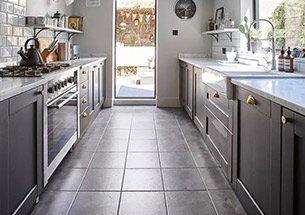 Thumb thiết kế nhà bếp sang trọng tông màu xám