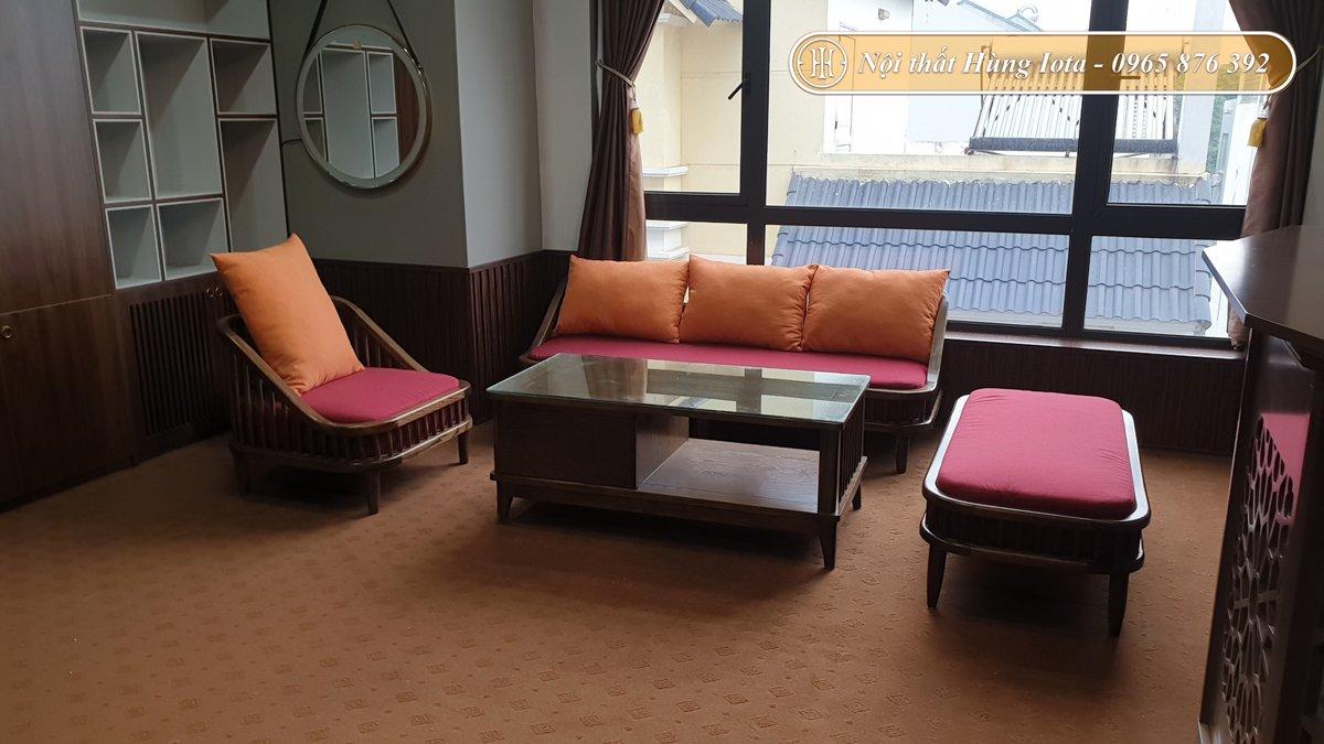 Bộ bàn ghế gỗ cho Thủ Đầu Thang