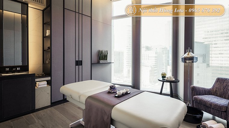 Giường massage body cao cấp cho spa