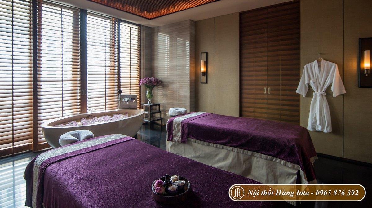 Giường massage body cho spa tại chung cư
