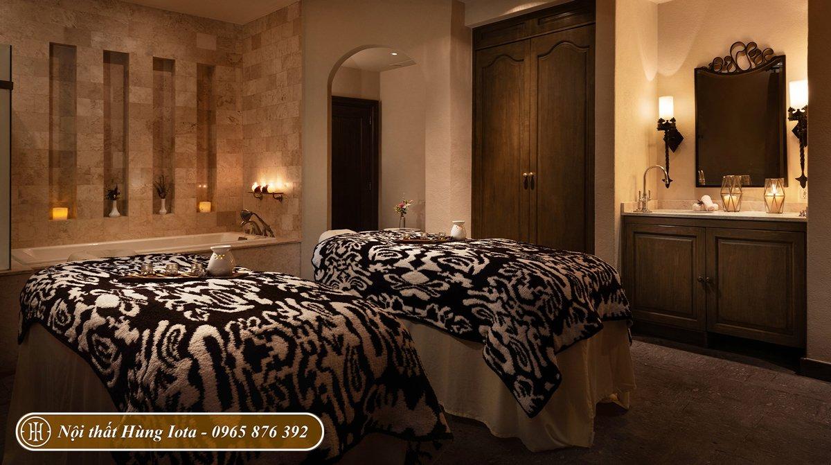 Giường massage đẹp kiểu dáng đơn giản