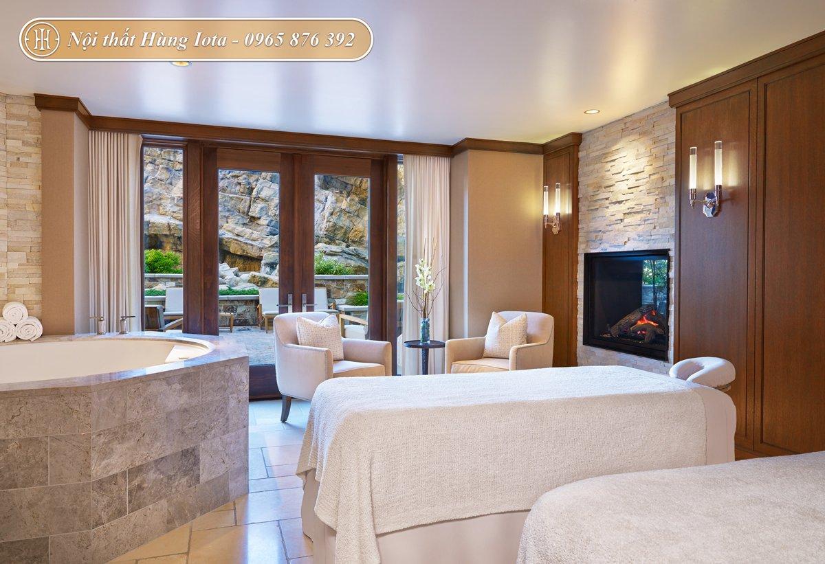 Giường spa và bồn ngâm massage cao cấp