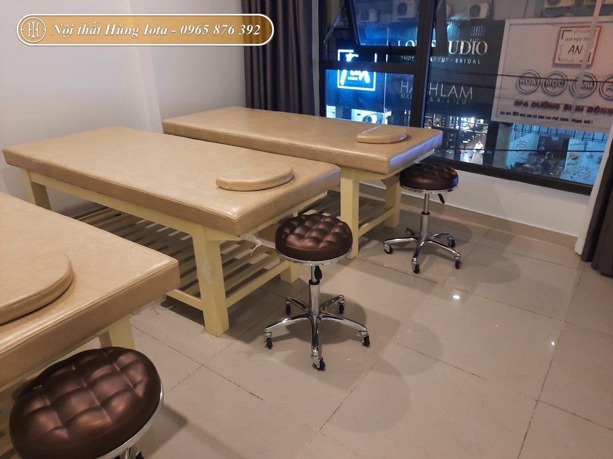 Hệ thống giường massage cho Hami's Clinic