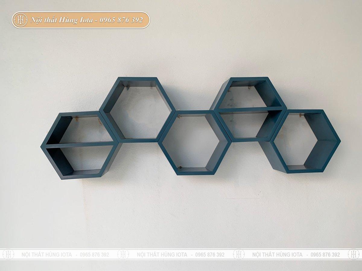 Kệ trưng bày decor hình lục giác