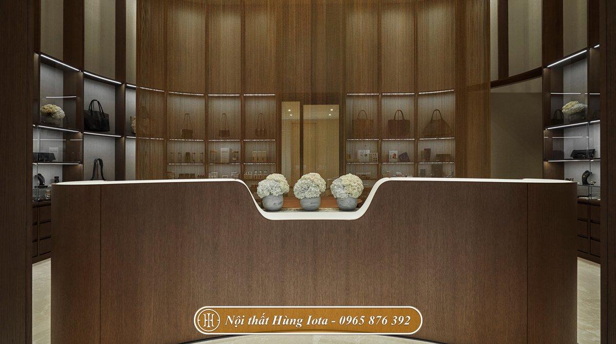 Nội thất thẩm mỹ viện chất liệu gỗ cao cấp