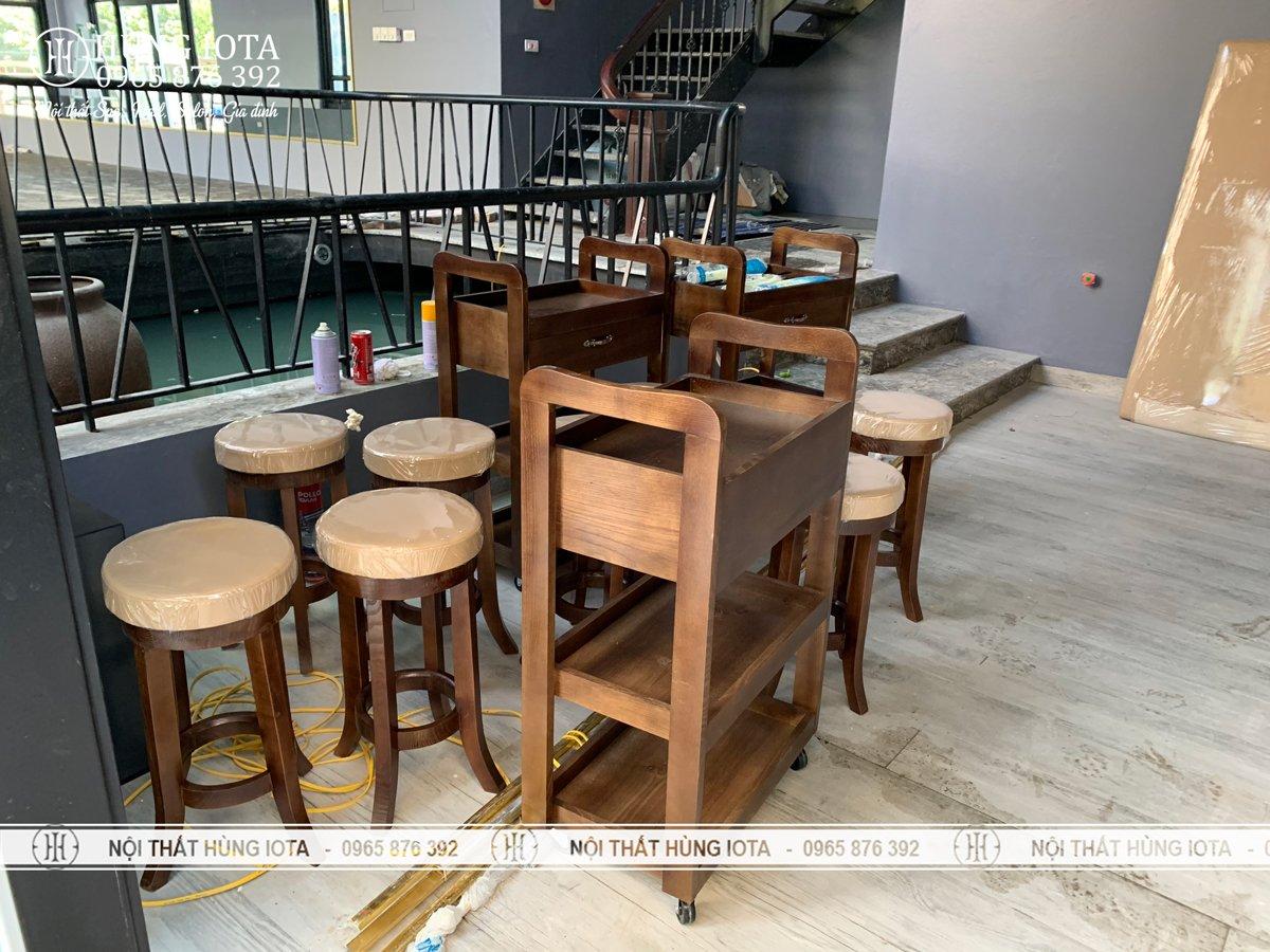 Sản phẩm nội thất cho cơ sở Dưỡng Sinh Đông Y