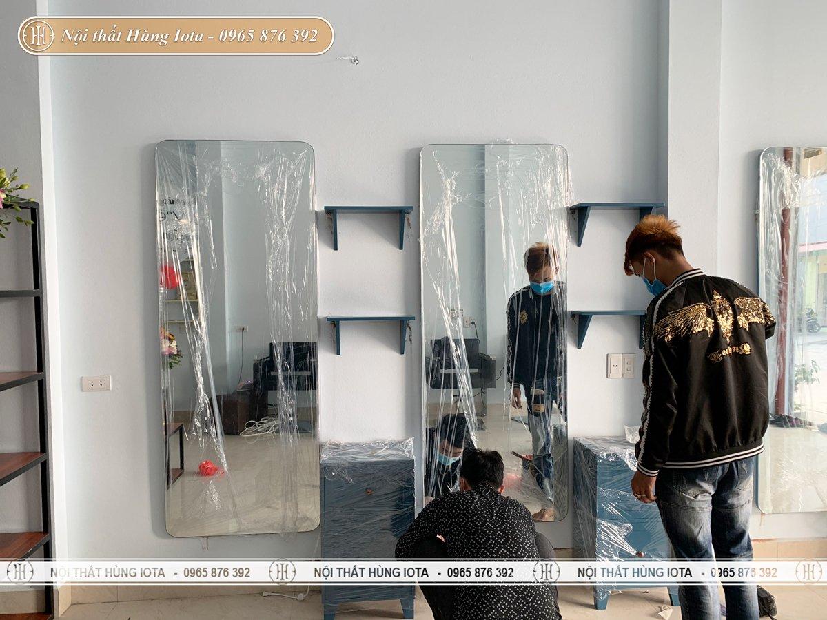 Setup nội thất salon tại Bắc Ninh