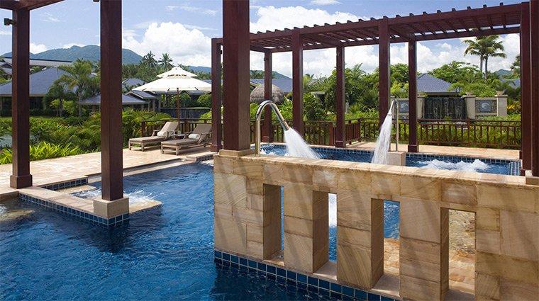 Thiết kế bể bơi cho spa tại nhà