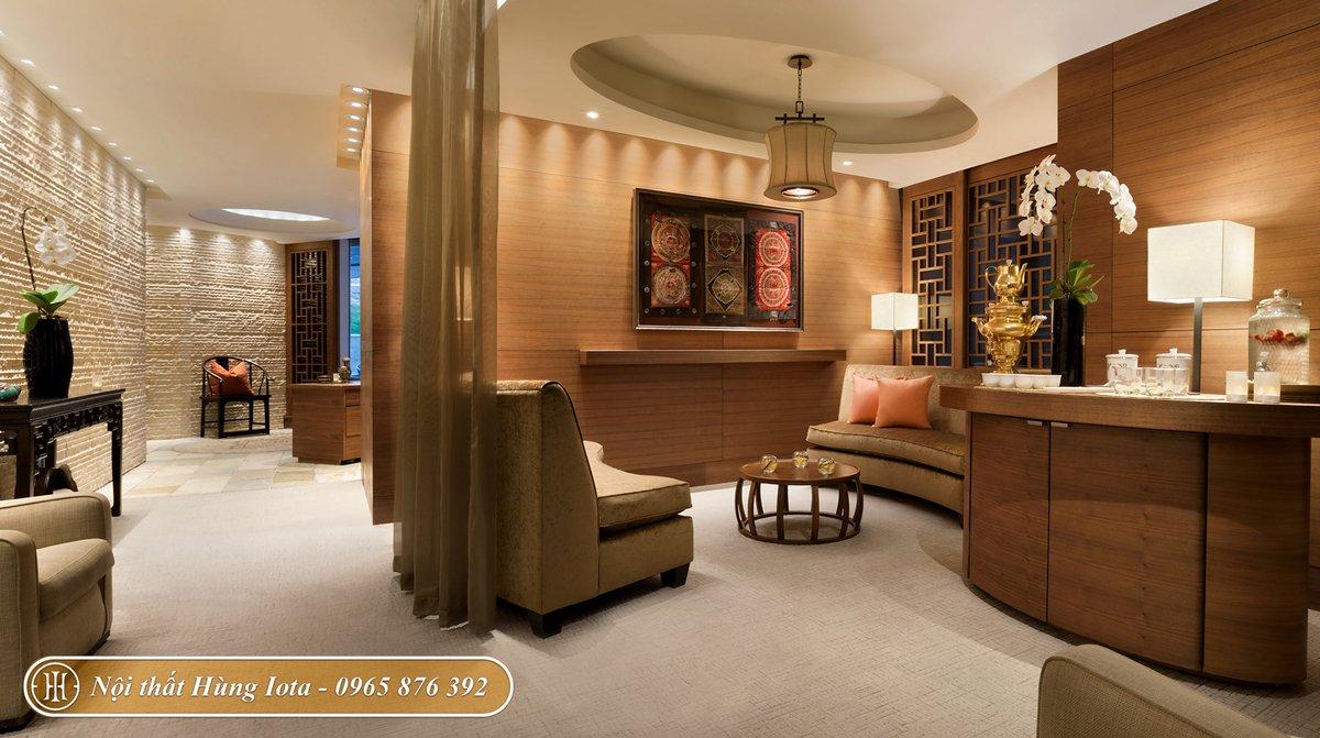 Thiết kế spa kiểu Nhật phong cách tối giản
