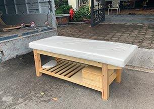 thumb giường massage gia đình gỗ thông