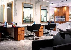 Thumb nội thất spa kết hợp salon tóc hiện đại