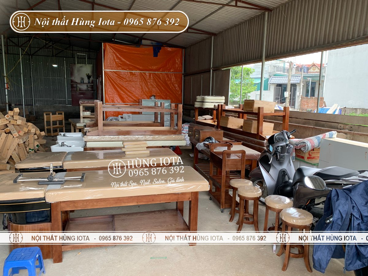 Giường gội đầu bồn sứ đẹp giá rẻ tại Hà Nội