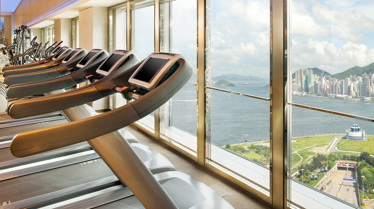 Nội thất phòng gym tiện nghi cho spa