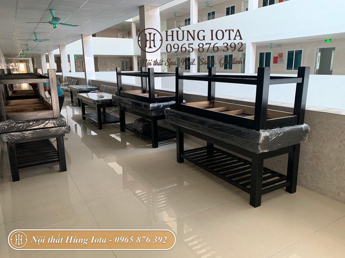 Thi công lắp đặt giường massage cho bệnh viện tại Bắc Ninh