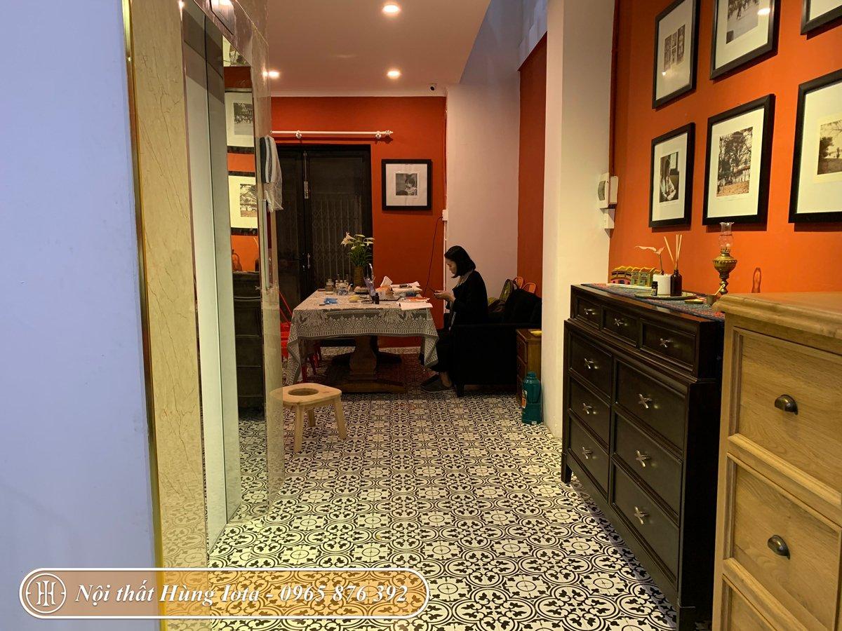 Thiết kế nội thất spa phong cách Trung Hoa tại Hà Đông