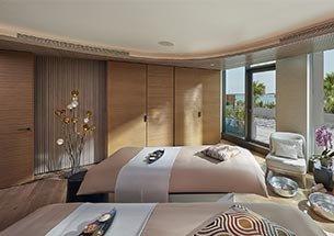Thumb thiết kế nội thất spa đẹp tone trắng nâu