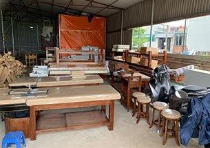 Thumb xưởng sản xuất giường gội dưỡng sinh ở Hà Nội