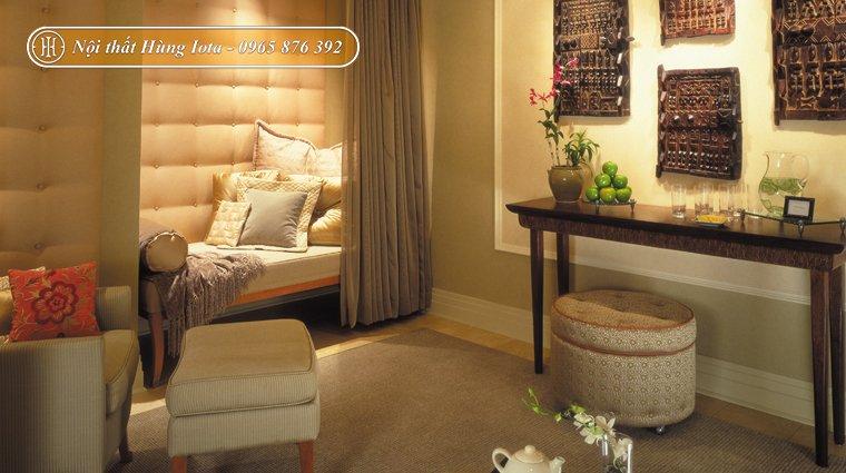 Trang trí phòng spa đẹp đơn giản