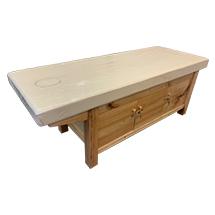 Giường spa kín tủ dưới màu gỗ GSP52