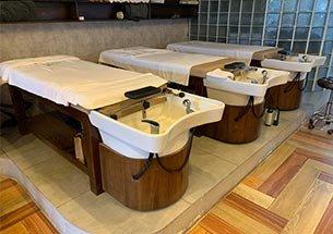 Thumb lắp đặt giường gội dưỡng sinh bồn sứ cho khách sạn