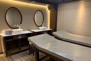 Thumb lắp đặt giường spa tại khách sạn The Q Hotel