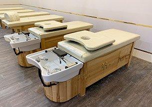 Thumb lắp đặt nội thất spa màu gỗ ở Vinhomes West Point