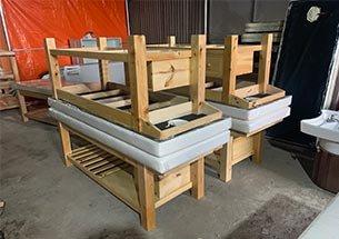 Thumb xưởng sản xuất giường spa gỗ thông giá rẻ