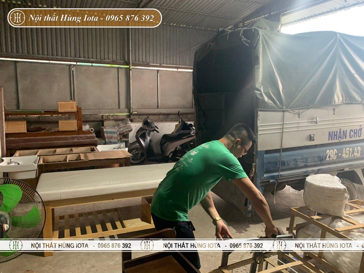 Xưởng sản xuất giường spa uy tín tại Hà Nội