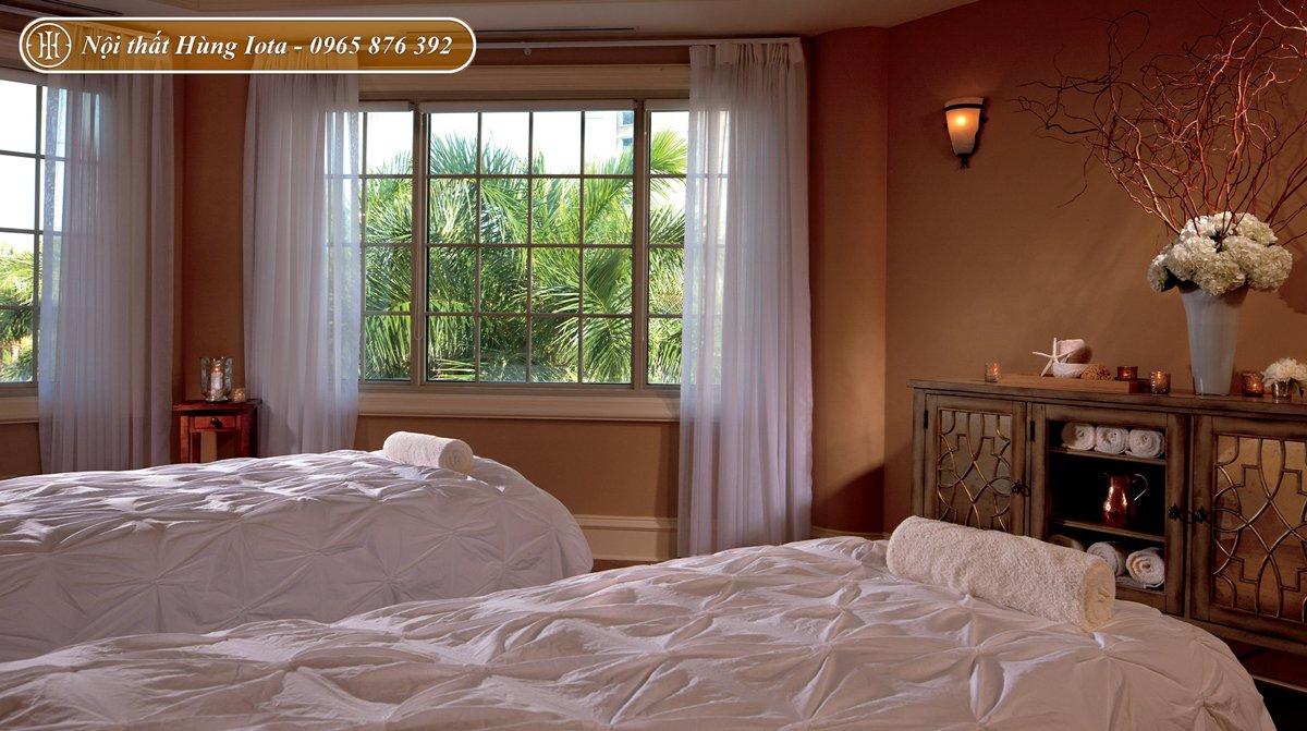 Setup nội thất phòng spa phong cách châu Âu thanh lịch
