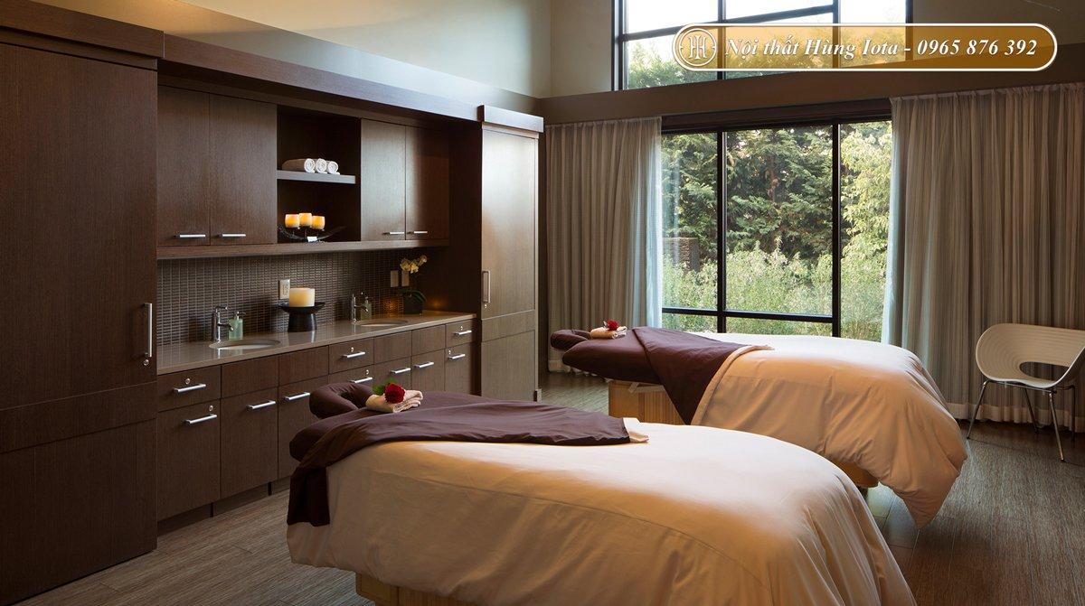 Setup nội thất spa theo phong cách đương đại